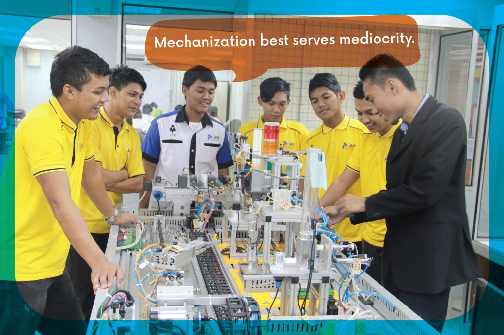 Diploma in Industrial Automation (Mechatronic) - College MCS